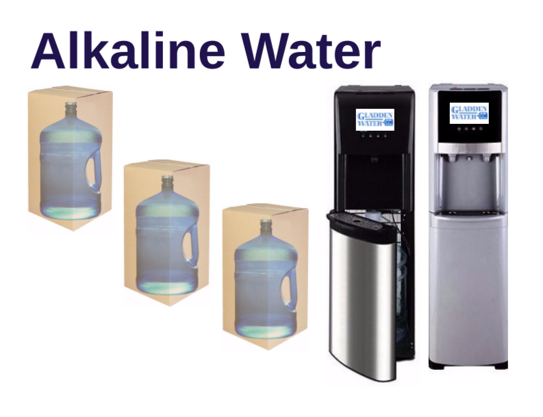 Bottled Water Delivery Service Purified Alkaline